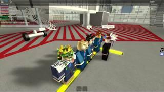 High Demand! [] Roblox Aqua Airways Staff Flight