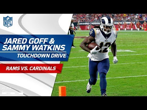 Jared Goff & Sammy Watkins Help Pad Rams Lead on TD Drive! | Rams vs. Cardinals | NFL Wk 13