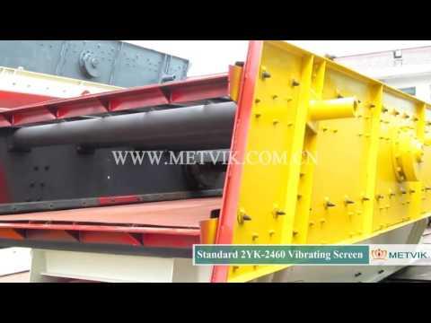 2YK 2460 Vibrating Screen of Shanghai Metvik® Company