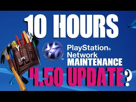 Upcoming PSN Maintenance 10 hours PS4 4.50 Update Release date?