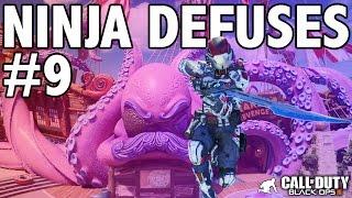 BO3: NINJA DEFUSE MONTAGE! #9 (Ninja Defuses, Funny Moments & Trolling)