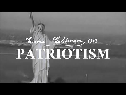 Emma Goldman on Patriotism
