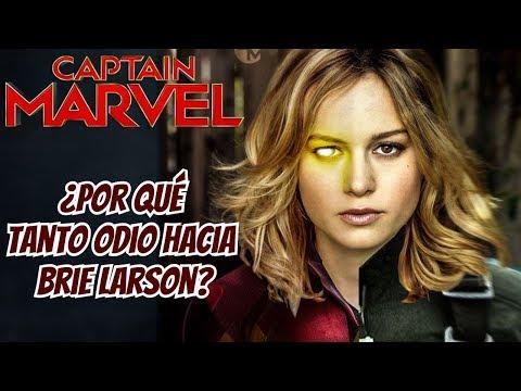 ¿Por qué todo Mundo Odia a Brie Larson? - Captain Marvel