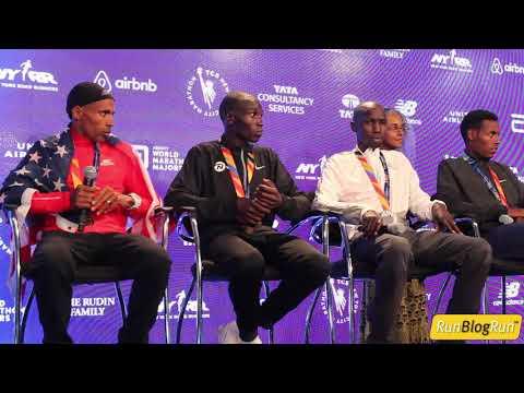 2017 TCS NYC Marathon Men's Press Conference