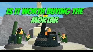 Roblox Tower Battles New Mortar! Is the Mortar Worth Buying For Tower Battles!