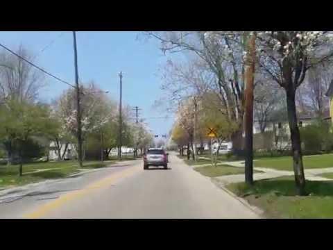 South Broadway (rt 534) Geneva Ohio Trees in Bloom