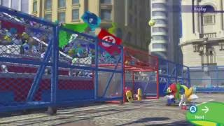 Mario & Sonic at the Rio 2016 Olympic Games - Dual Football Gameplay (Wii U)