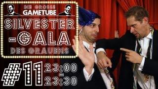 Thumbnail für Die Große GameTube-Silvestergala des Grauens - Folge #11 (23:00-23:30 Uhr)