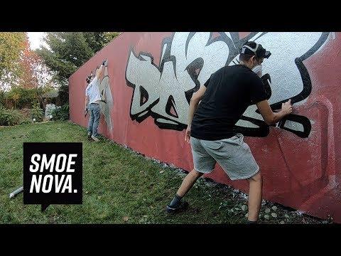 1 vs 1 Graffiti SPEED Challenge  DOKE vs SMOE
