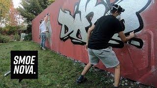 1 vs. 1 Graffiti SPEED Challenge | DOKE vs. SMOE