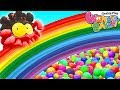 Learn Colors with Balloon Popping | Rainbow Painting & Drawing | Funny Cartoon Compilation for Kids