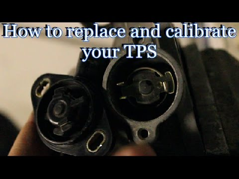 How to replace / calibrate your throttle position sensor TPS (Honda)