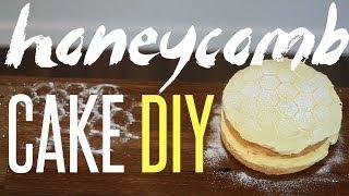 Honey Cake Recipe  DIY Honeycomb Stencil