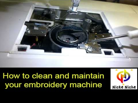 How to clean and maintain your Brother embroidery machine NV800e