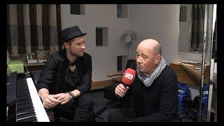 Johannes Oerding im TV Interview bei Radio VHR