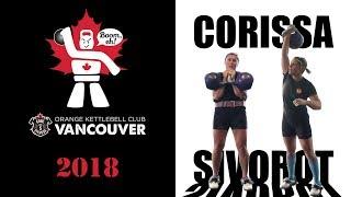 Corissa Sivorot | Kettlebell Sport Triathlon (Jerk, Snatch, Long Cycle) with the 20 kg kettlebells