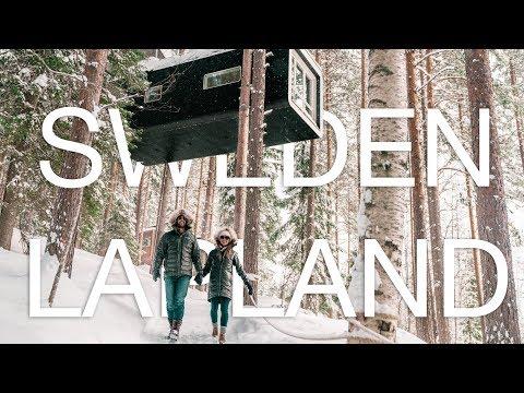 Sweden Lapland Tree Hotel - Northern Lights & Dogsledding