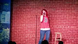 Dotty Parker at Goodnights comedy club raleigh nc 6/30/18