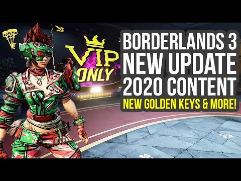 Borderlands 3 Update Out Now, 2020 Content, Golden Keys & Way More (Bl3 DLC 1) thumbnail