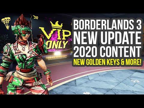 Borderlands 3 Update Out Now, 2020 Content, Golden Keys & Way More (Bl3 DLC 1) thumbnail