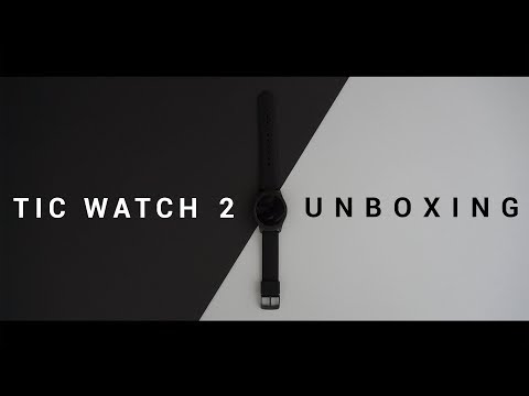 Tic Watch 2; A Cinematic Unboxing| Cinema 7