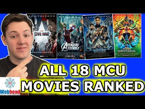 All 18 MCU Movies Ranked From Worst To...