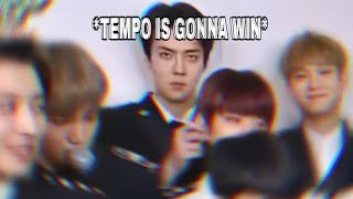 Download Sehun knew EXO is gonna get a 2nd win