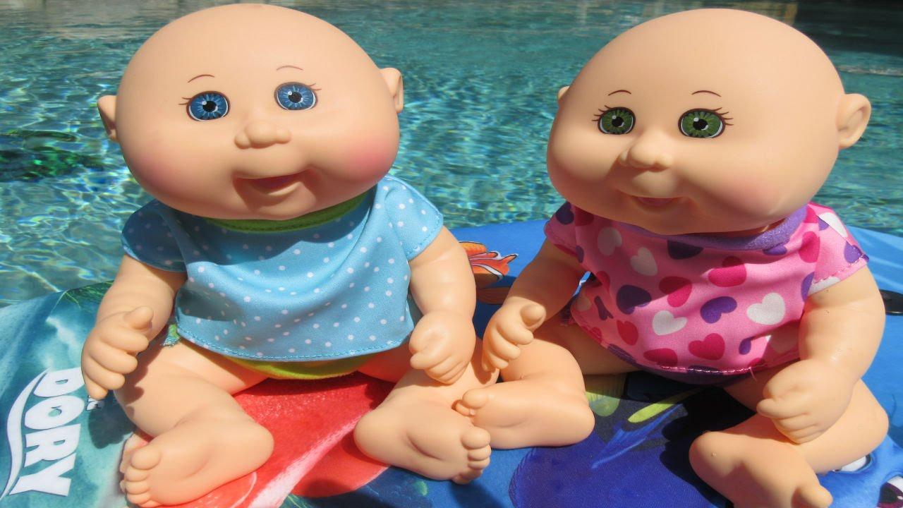 Cabbage patch kids twin babies boy girl september 24 megan josef.