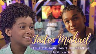 Entrevista al niño dominicano que está brillando en Hollywood Jaden Michael - Esta Noche Mariasela