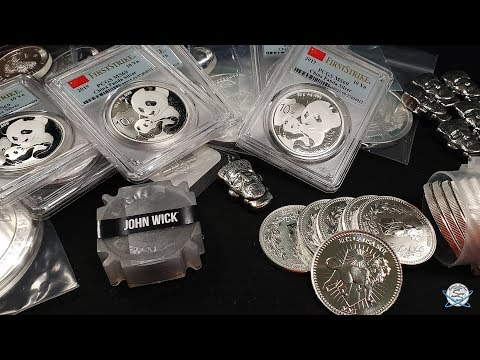 John Wick SILVER And MORE Mega Silver Unboxing!