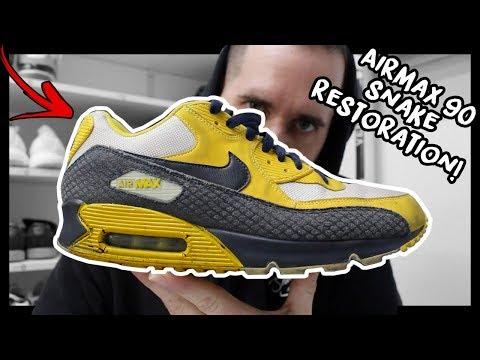 ... Crocodile Snake Skin Sneaker Review NikeID · 2012 NIKE AIR MAX 90  SNAKE
