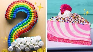 The Final CAKEdown Easy Cutting Hacks To Make Number Cakes Easy Cake Decorating Ideas By So Yummy