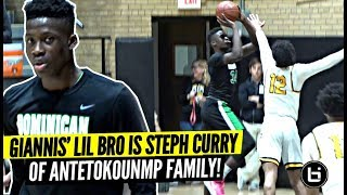 Giannis' Lil Bro Alex Is The STEPH CURRY of The Antetokounmpo Family!! SPLASHING 3s & Droppin Dimes!