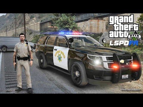 LSPDFR #449 - CHP TAHOE PATROL!! (GTA 5 REAL LIFE POLICE MOD)