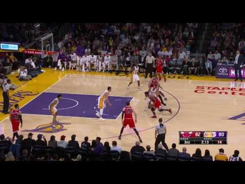 Chicago Bulls at Los Angeles Lakers- November 20, 2016