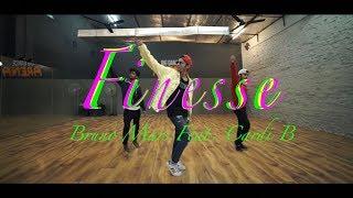 FINESSE (Remix) Bruno mars Feat. Cardi B | Choreography | Ankit Sati