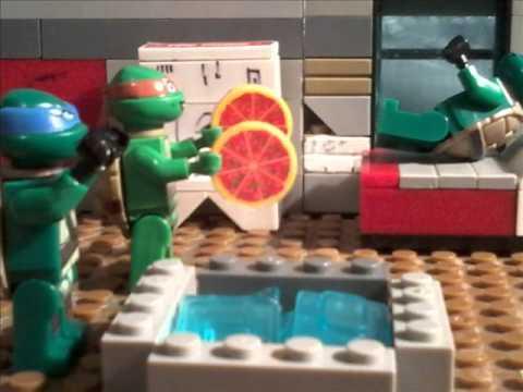 Лего черепашки ниндзя 4 серия новий мутант