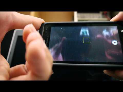 MOTOROLA MILESTONE 3 相機操作影片