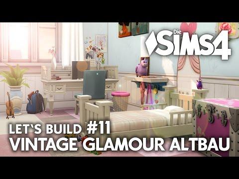 Jugend- & Kinderzimmer   Die Sims 4 Haus bauen   Vintage Glamour Altbau #11