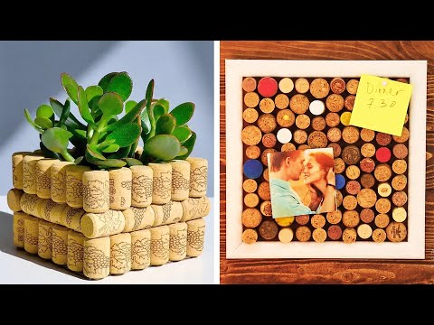 28 WINE CORK PROJECTS FOR YOUR COMFORT