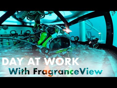Day at Work with FragranceView Offshore Commercial Diving (Mixed Gas)