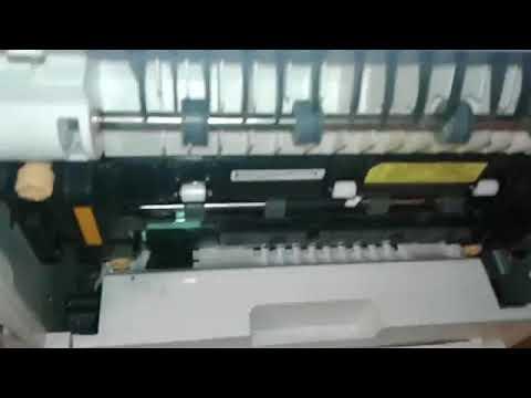 Clearing An Area 1 Jam In A Xerox 4620 Printer Youtube