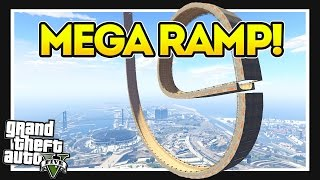 The Vertical Loop Ramp!? Go Kart Special! GTA 5 Mods Showcase!