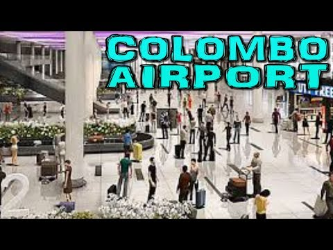 Colombo Bandaranaike International Airport - Departure Terminal Sri Lanka (4K)