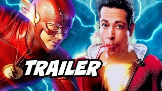 The Flash 4x23 Finale Promo and Shazam Teaser Reaction
