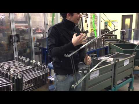 Fermob Folding Bistro Chair- Factory Tour