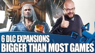 6 Massive DLC Expansions Bigger Than Most Actual Games