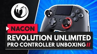 NACON Revolution Unlimited Pro PS4 Controller Unboxing & Impressions