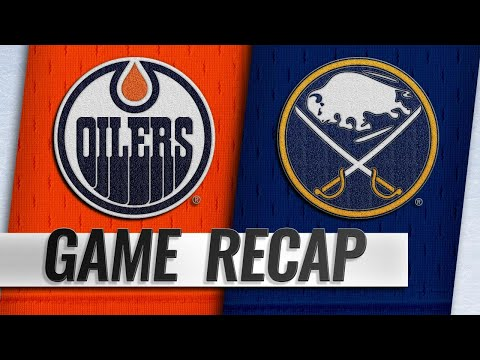 Oilers use three-goal 2nd period to power past Sabres
