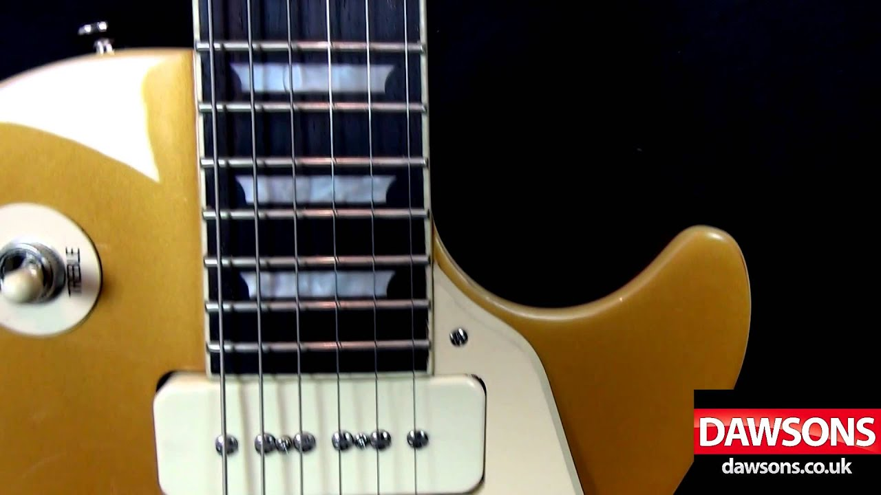 Alnico Classic Pickups in the LP Standard - Epiphone Electrics